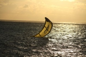 Kite Surfing at Le Morne