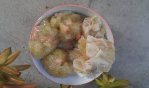 Niouk Yen - Choko and Meat Dumplings
